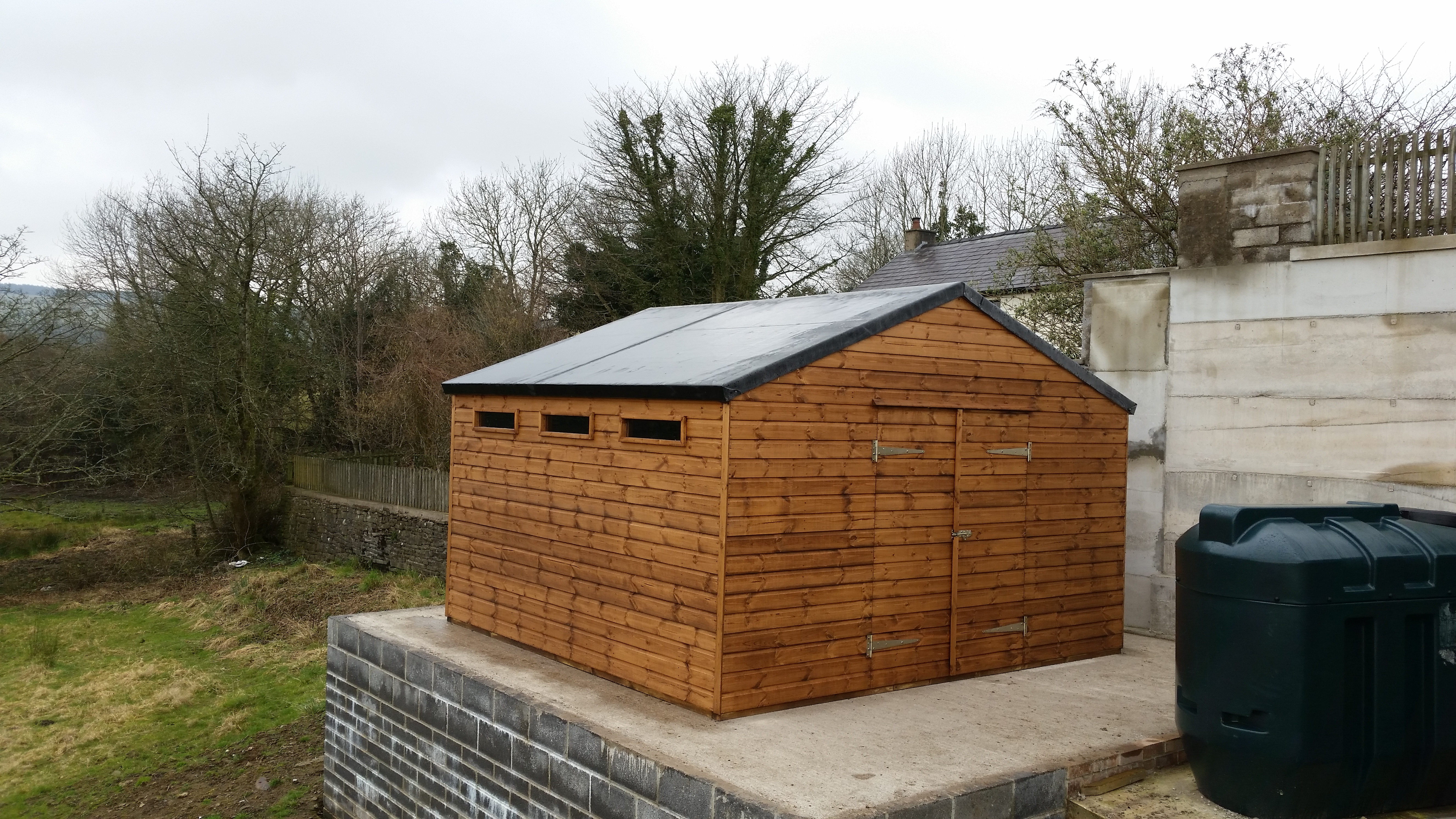 Shed and fencing centre bridgend south wales for Garden office wales